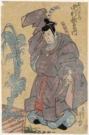 Toyokawa Yoshikuni: Actor Nakamura Utaemon as Ishikawa Goemon - Museum of Fine Arts