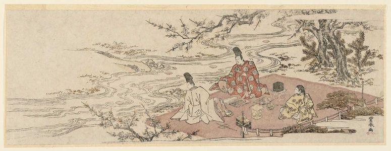Utagawa Toyoharu: A Winding-stream Party - Museum of Fine Arts