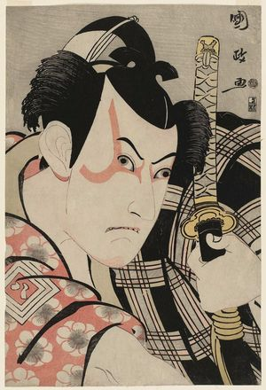 歌川国政: Actor Ichikawa Yaozô III as Umeômaru - ボストン美術館