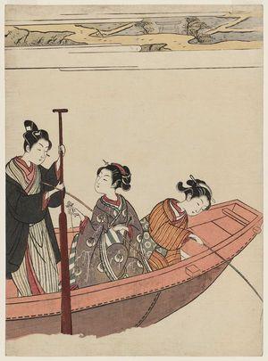 鈴木春信: A Fishing Party - ボストン美術館
