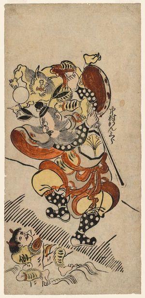 Torii Kiyonobu I: Actors Nakamura Kanzaburô and Senseki Hikosaku - Museum of Fine Arts