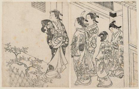 Nishikawa Sukenobu: Ehon Tokiwa Gusa