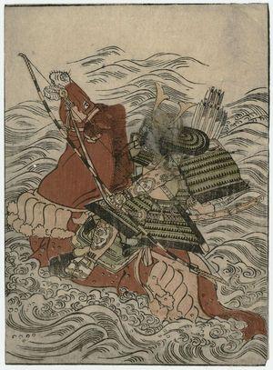 Kitao Shigemasa: , from the book Ehon musha waraji (Picture Book: The Warrior's Sandals) - Museum of Fine Arts