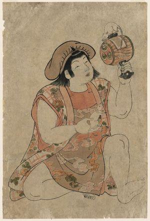 Kitao Shigemasa: Young Boy as Daikoku - Museum of Fine Arts