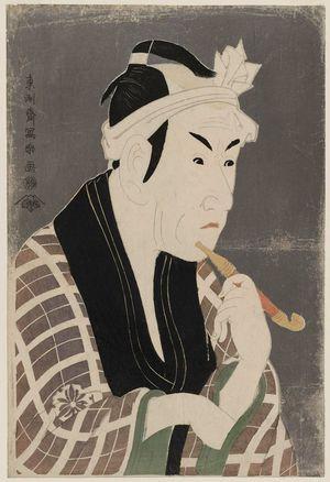 東洲斎写楽: Actor Matsumoto Kôshirô IV as Gorôbei, the Fishmonger from San'ya - ボストン美術館
