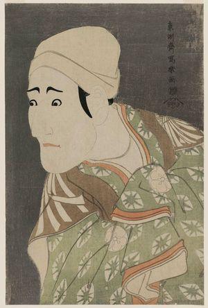 東洲斎写楽: Actor Morita Kan'ya VIII as the Palanquin-bearer Uguisu no Jirôsaku - ボストン美術館