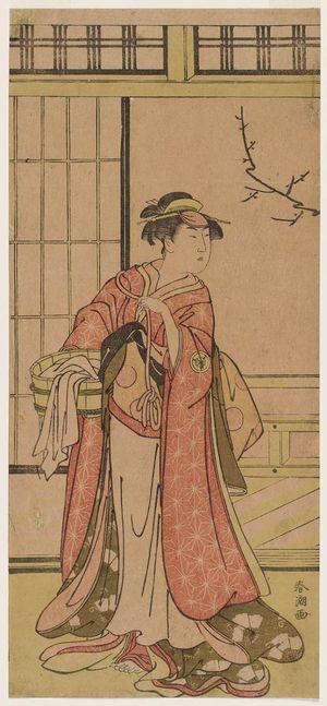 勝川春潮: Actor Iwai Hanshirô - ボストン美術館
