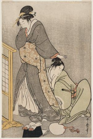 Kitagawa Utamaro: Double Pillow - Museum of Fine Arts