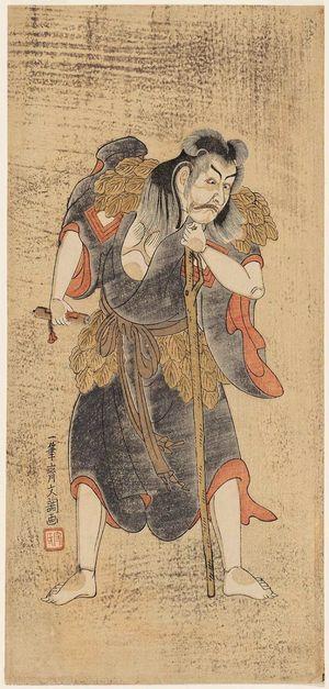 Ippitsusai Buncho: Actor Ichikawa Ebizô as a Taoist Immortal - Museum of Fine Arts