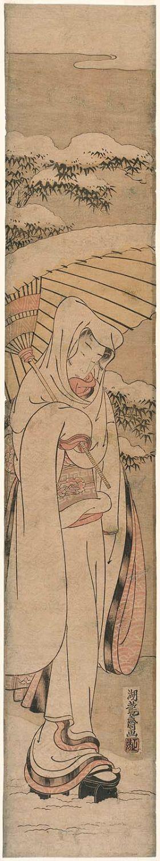 磯田湖龍齋: The Heron Maiden (Sagi musume) - ボストン美術館