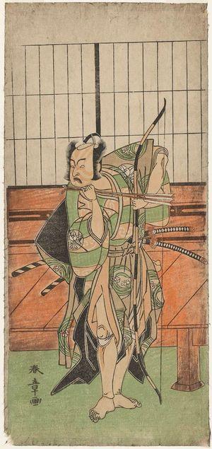 Katsukawa Shunsho: Actor Ichimura Uzaemon IX - Museum of Fine Arts