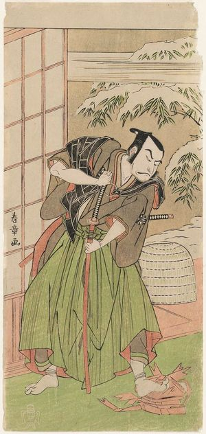 Katsukawa Shunsho: Actor Nakamura Nakazô - Museum of Fine Arts