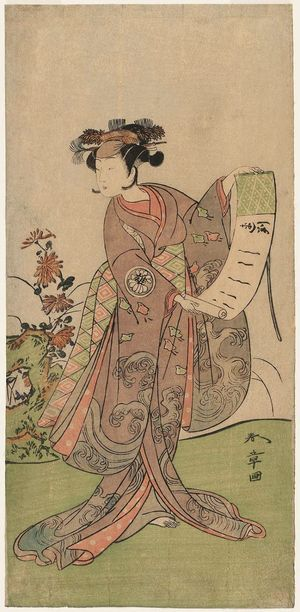Katsukawa Shunsho: Actor Segawa Yûjirô - Museum of Fine Arts
