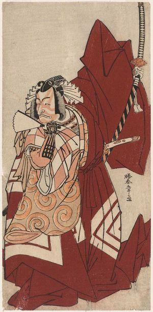 Katsukawa Shunsho: Actor Ichikawa Danjûrô V as Hannya no Gorô - Museum of Fine Arts