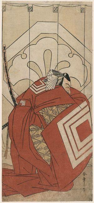 Katsukawa Shunsho: Actor Ichikawa Danjûrô V as in a