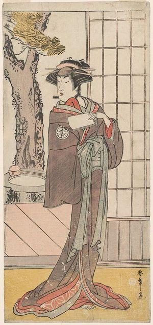 Katsukawa Shunsho: Actor Segawa Kikunojô III - Museum of Fine Arts