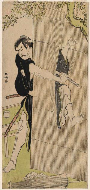 勝川春好: Actor Arashi Shichigorô III - ボストン美術館