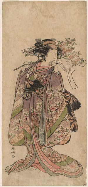 Katsukawa Shunko: Actor Nakamura Tomijûrô - Museum of Fine Arts