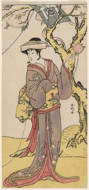 勝川春好: Actor Segawa Kikunojô III - ボストン美術館