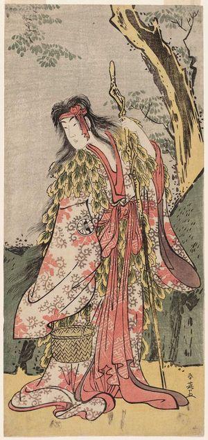 Katsukawa Shun'ei: Actor Segawa Kikunojô III as Yamauba - Museum of Fine Arts