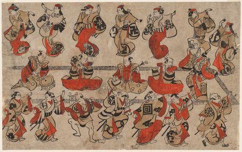 Torii Kiyonobu I: A So-Dori Performance - Museum of Fine Arts