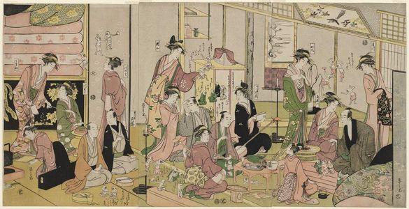 Hosoda Eishi: The Good and Evil Influences - Museum of Fine Arts