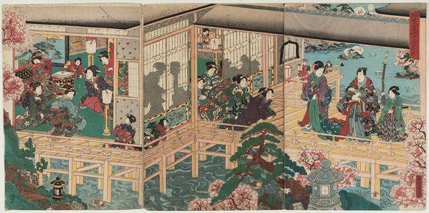 歌川国輝: Genji-e - ボストン美術館