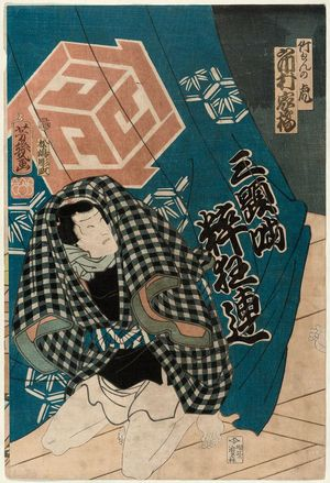 Ochiai Yoshiiku: Actor - Museum of Fine Arts