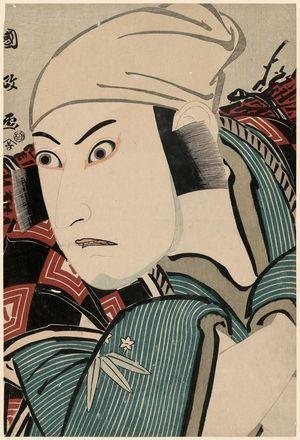 歌川国政: Actor Ichikawa Yaozô III - ボストン美術館