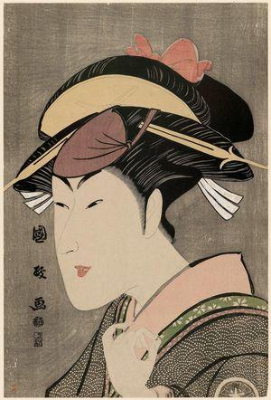 Utagawa Kunimasa: Actor Matsumoto Yonesaburô - Museum of Fine Arts