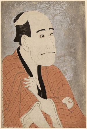 東洲斎写楽: Actor Arashi Ryûzô II as the Moneylender Ishibe Kinkichi - ボストン美術館