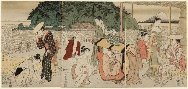 Torii Kiyonaga: A Pilgrimage to Enoshima - Museum of Fine Arts