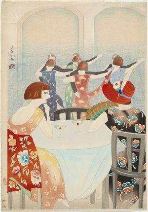 Yamamura Kôka: Dancing at the New Carlton Hotel, Shanghai - Museum of Fine Arts