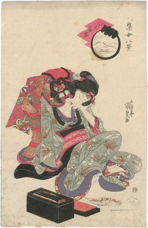 Utagawa Kunisada: Shûjo hakkei - Museum of Fine Arts