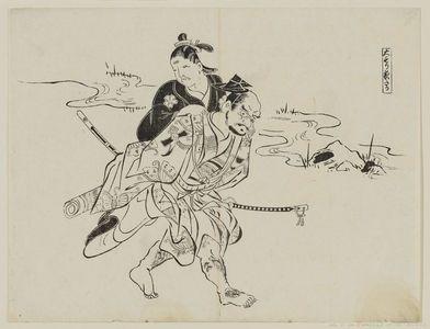 Okumura Masanobu: Omori Yotaka - Museum of Fine Arts