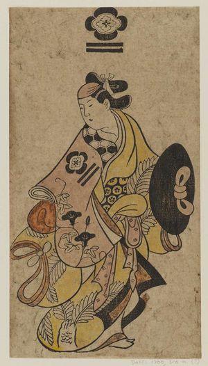 Torii Kiyonobu I: Actor Matsumoto Heizô - Museum of Fine Arts
