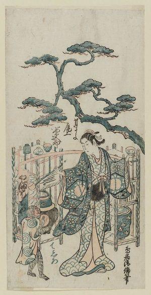 鳥居清倍: Actor Onoe Kikugorô - ボストン美術館
