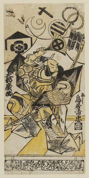 鳥居清忠: Actor Ôtani Hiroji - ボストン美術館