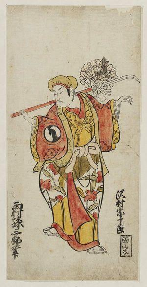 Nishimura Shigenobu: Actor Sawamura Sojûrô - Museum of Fine Arts
