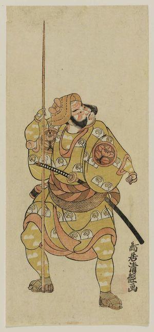 鳥居清経: Actor Ichimura Uzaemon - ボストン美術館