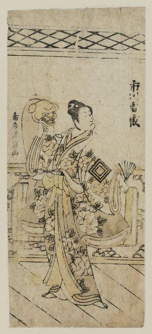 鳥居清経: Actor Ichikawa Raizô - ボストン美術館