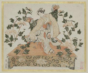 Unknown: Dancer Performing the Lion Dance (Shakkyô) - Museum of Fine Arts