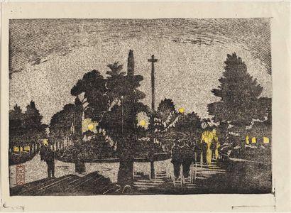 Oda Kazuma: Hibiya Park in Tokyo - Museum of Fine Arts