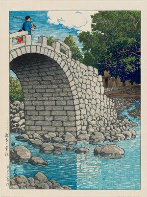Kawase Hasui: Kanahama in Hizen Province (Hizen Kanahama), from the series Selected Views of Japan (Nihon fûkei senshû) - Museum of Fine Arts