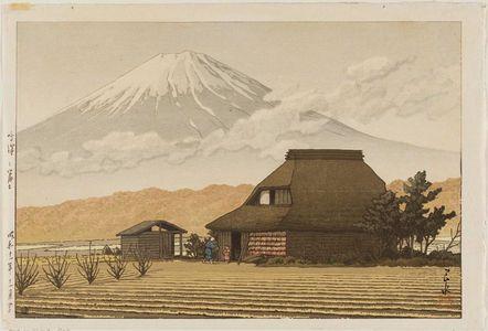 Kawase Hasui: Mt. Fuji from Narusawa (Narusawa no Fuji) - Museum of Fine Arts