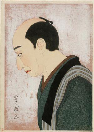 Toyonari Yamamura: Actor Kataoka Nizaemon - ボストン美術館