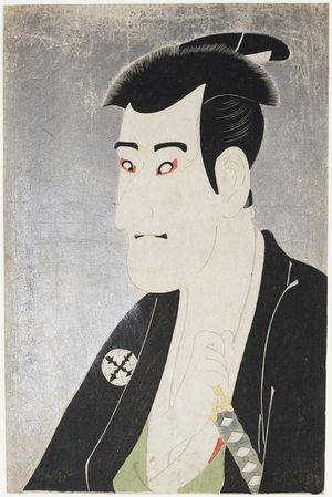 Toshusai Sharaku: Actor Ichikawa Komazô III as Shiga Daishichi - Museum of Fine Arts