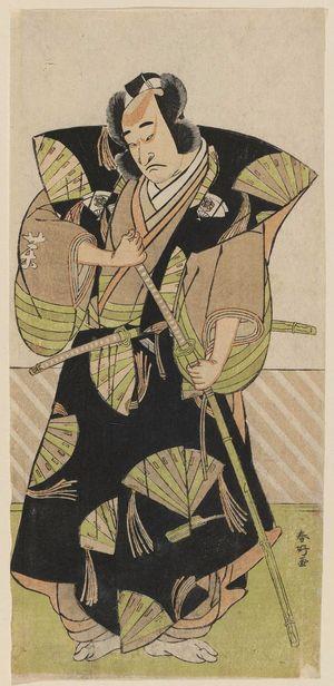 Katsukawa Shunko: Actor Onoe Matsusuké as Yakushiji Shirozaemon - Museum of Fine Arts