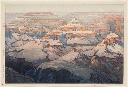 吉田博: The Grand Canyon. Series: The United States - ボストン美術館