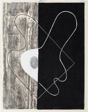Onchi Koshiro: Poem No. 15 (or 18): Past - Museum of Fine Arts